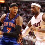 Profile of Lebron James NBA Basketball Player